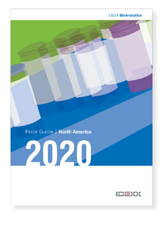 2020 Price guide cover